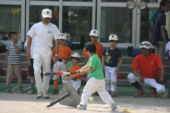 5月15日 野球体験会 開催