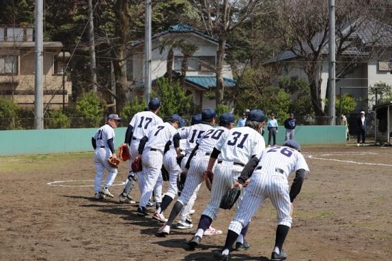 杉並区立小学校PTA野球大会春季大会 一回戦突破!